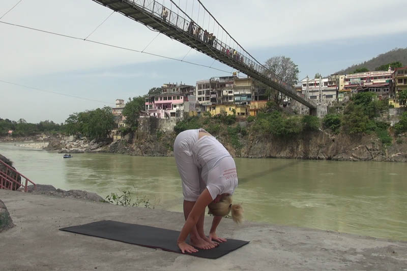 Introduction to Standing Forward Bend – Uttanasana